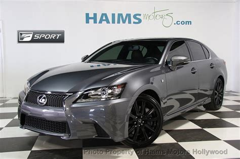 used lexus coupe 2014 used lexus gs 350 4dr sedan rwd at haims motors ft