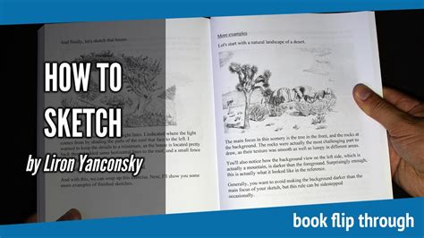 sketchbook flip book tutorial how to sketch by liron yanconsky drawing book flip