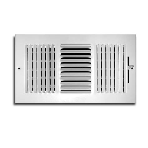 ceiling register covers truaire 12 in x 6 in 3 way wall ceiling register h103m
