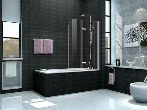 duschwände badewanne 2 tlg 120 x 140 badewannen faltwand aufsatz duschwand