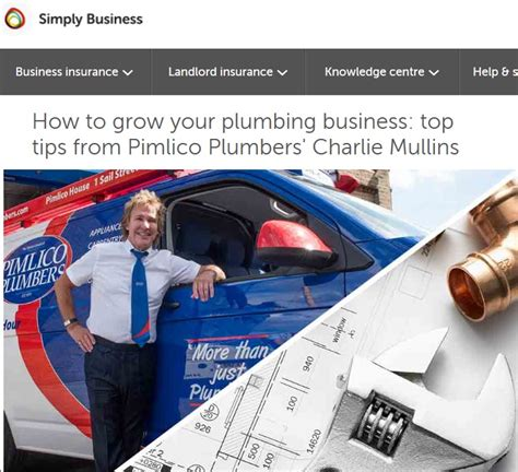 How To Grow A Plumbing Business by Growing A Plumbing Business Top Tips Pimlico Plumbers