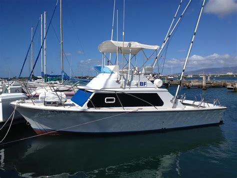 boats for sale hawaii 1977 luhrs 28 powerboat for sale in hawaii