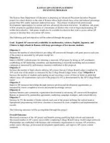 sle letter ap program initiative