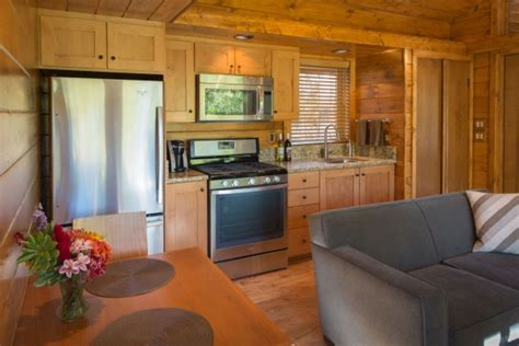 pics inside 14x30 house 392 sq ft escape cabin
