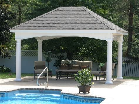 Beautiful Pavilion by the pool pool Pinterest