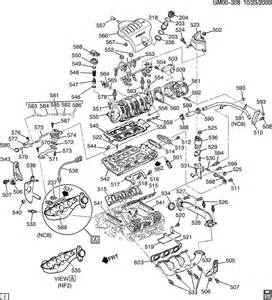 engine asm 3 8l v6 part 5 manifolds fuel related parts