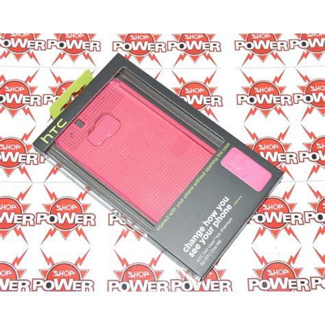 Htc One M9 Dot View Flip htc custodia originale dot view flip cover one m9 pink