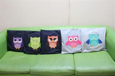 Bantal Owl sarung bantal owl http asmaranihandycraft handmade crafts gallery