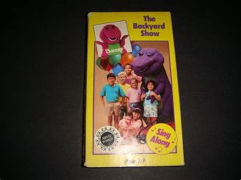 barney backyard show video barney vhs in barney