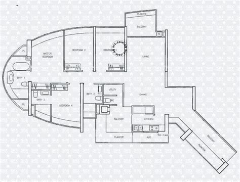 clover by the park floor plan floor plans for clover by the park condo srx property