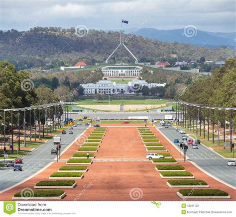 Cape House Plans Canberra Australia Capital View From War Museum To