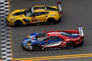 Ford Gt Vs Corvette Ford Gt Driver Lineup Announced For Le Mans 24 Hours