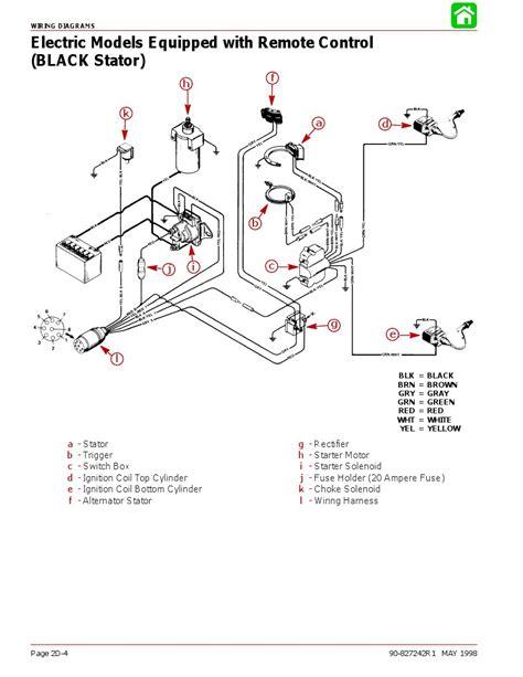 engine wiring johnson outboard tachometer wiring diagram