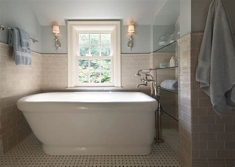 Blue Tub Bathroom by Interior Design Ideas Relating To Bathroom Home Bunch
