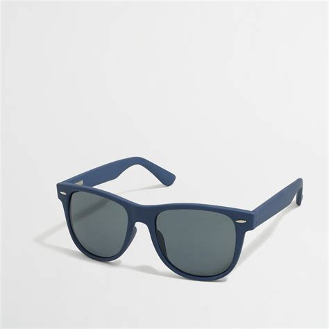 J Crew Discount Gift Card - j crew factory mens classic frame sunglasses in sapphire from j crew for 5 99