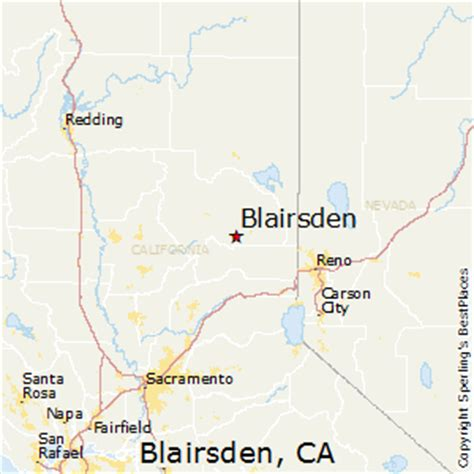 best places to live in blairsden, california