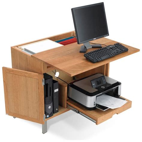desk with printer storage 1000 ideas about printer storage on pinterest office