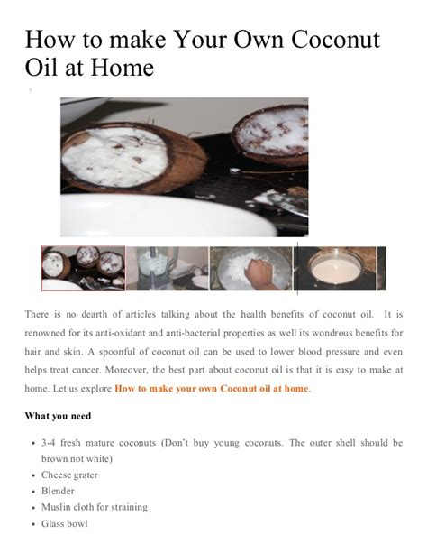 how to make coconut at home coconut