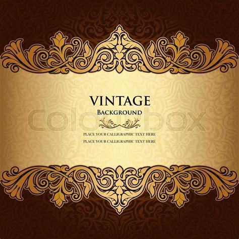 elegant layout book vintage ornamental background floral beautiful ornament