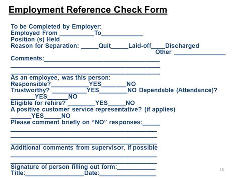 Criminal Reference Check Chapter 6 Employees Testing Selection Ppt