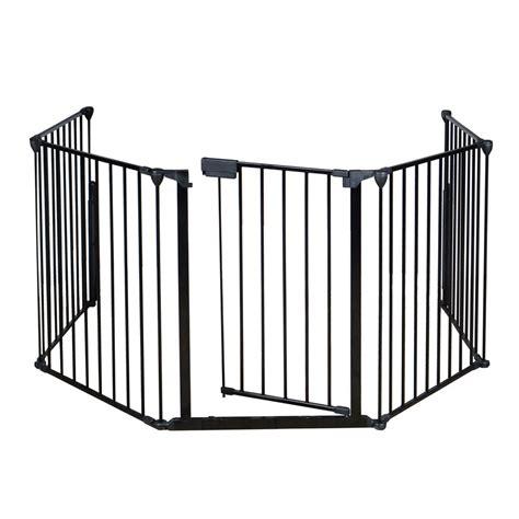 Baby Gate Cat Door by Baby Safety Gate Door Wide Metal Walk Thru Pet