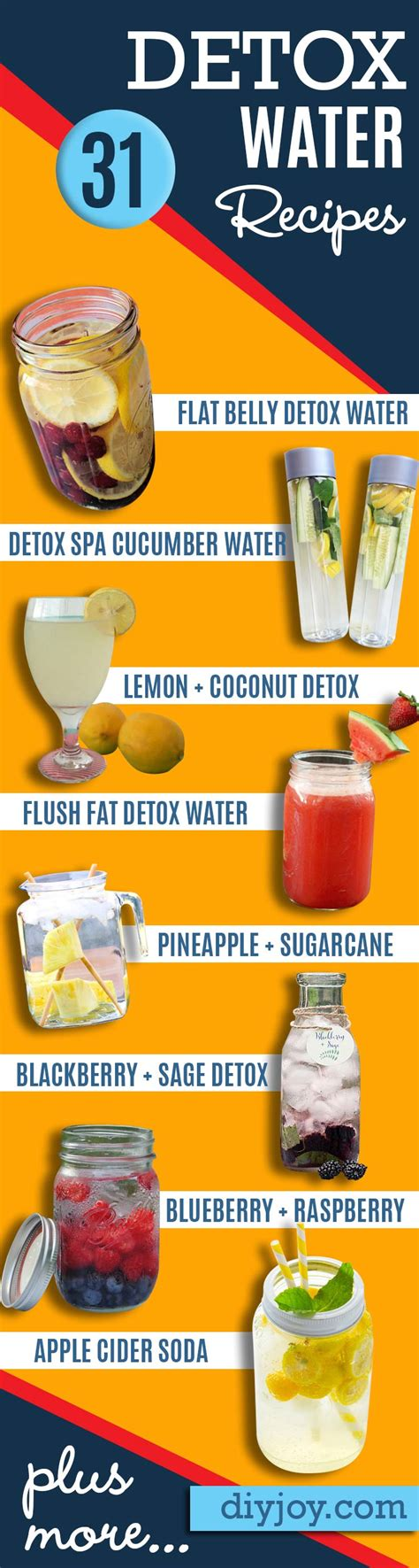 Water To Detox Your by 31 Diy Detox Water Recipes Drinks To Start 2016 Right