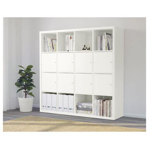 kallax regal dekorieren kallax shelving unit with 8 inserts white 147x147 cm ikea