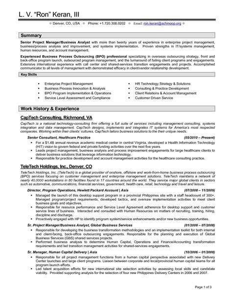 mergers and inquisitions resume template project scope