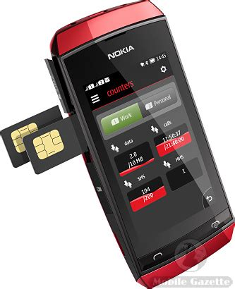 Nokia Asha 305 306 nokia asha 305 and nokia asha 306 mobile gazette mobile phone news