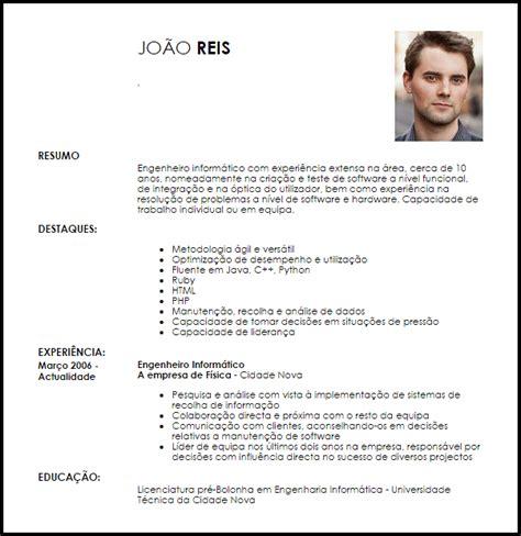 Modelo Curriculum Vitae Quimico Modelo Curriculum Vitae Engenheiro Inform 225 Tico Livecareer