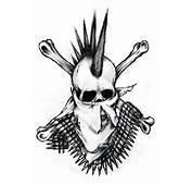 Simple Punk Gangsta Men With Gun Tattoo Stencil  Tattoobitecom