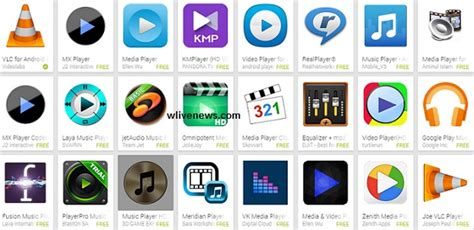 best media player for android top 5 best free android players for mobile tablet