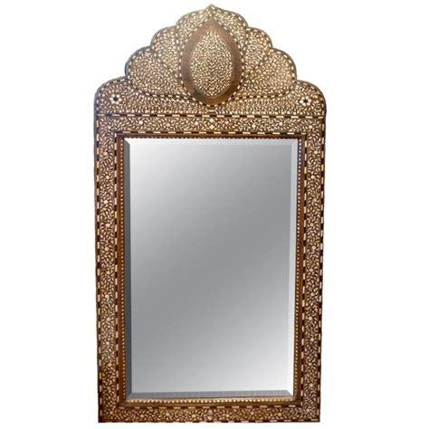 bone inlay mirror moroccan bone inlay mirror at 1stdibs