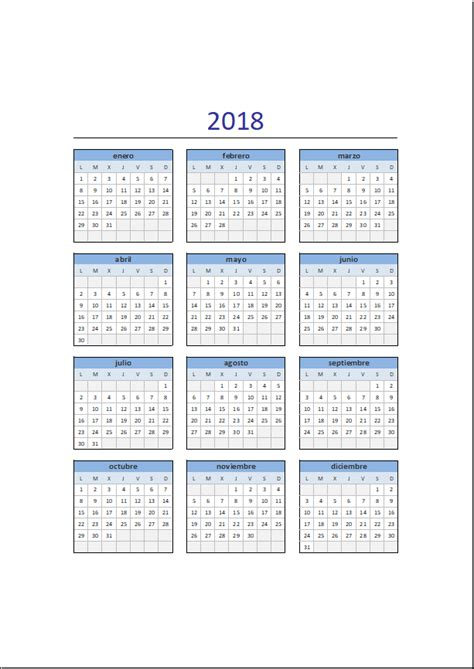 Afghanistan Calendario 2018 Calendario 2018 In Excel 28 Images Calendario 2018 En