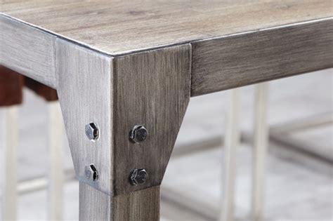gestell tisch metall esstisch metall gestell tisch im industriedesign ma 223 e