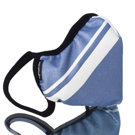 most comfortable dust mask vogmask classic microfiber high filtration dust mask blue