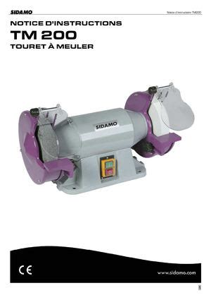 Touret à Meuler 1017 by Calam 233 O Touret 224 Meuler Sidamo Tm 200