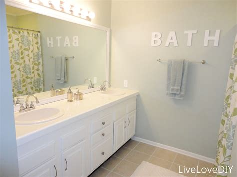 painted bathroom livelovediy painting trim walls what you need to know