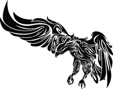 tribal bald eagle tattoos best 25 tribal eagle ideas on