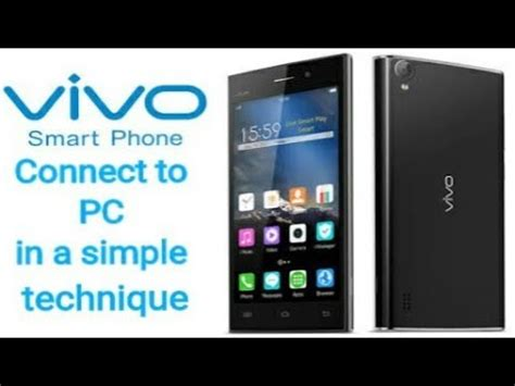 pc to mobile how to connect vivo mobile to pc in