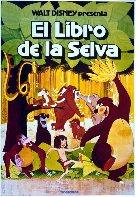 libro walt disneys the jungle throwback thursday the jungle book posters disney insider