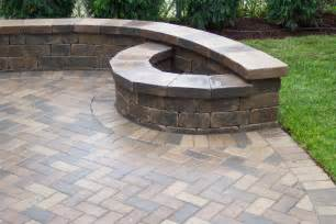 Brick Patio With Fire Pit brick patio ideas with fire pit viewing gallery