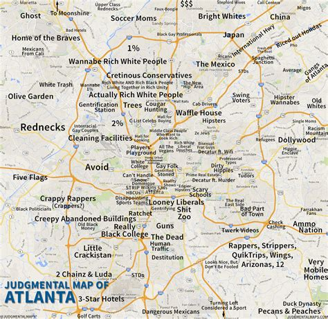 map of atlanta georgia my blog