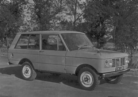 original land rover range rover roadrover range rover prototype 1967