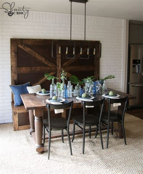 shanty to chic farmhouse table best 25 shanty to chic farmhouse table
