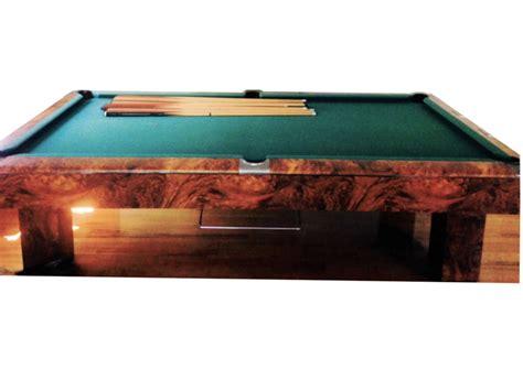 sold pre owned 9ft regulation gandy burl finish pool