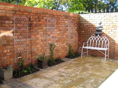 wall garden design why reclaimed bricks are material for your garden
