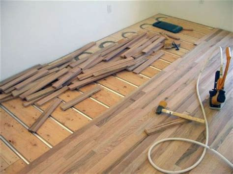 installing wood flooring underfloor heating esb