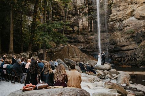 This Waterfall Wedding Overflows with Sweet Details   The