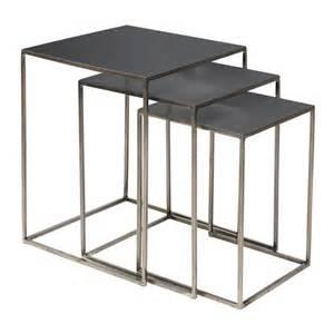 Beautiful Armchairs Metal Design Nesting Tables Freja By Broste Coenhagen